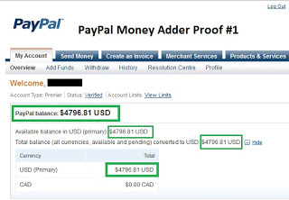 Paypal Money Adder 2014 Free Download