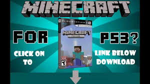 Minecraft ps3 edition FREE download