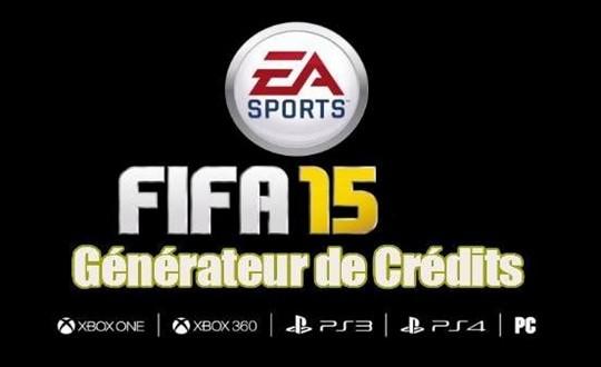 Générateur de Crédits et Points FIFA 15