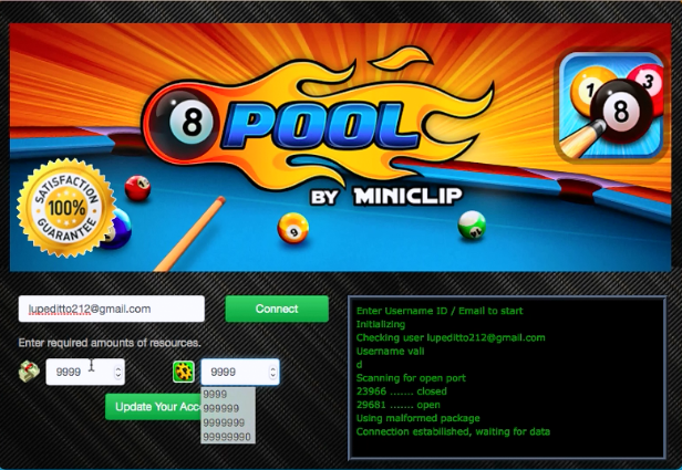 8 Ball Pool Triche