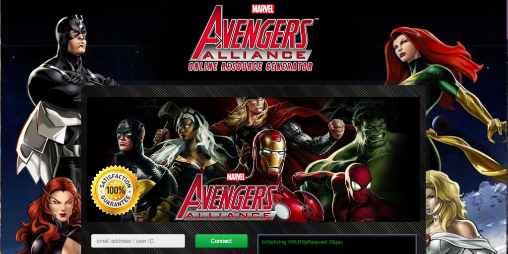 Marvel Avenger Alliance Triche