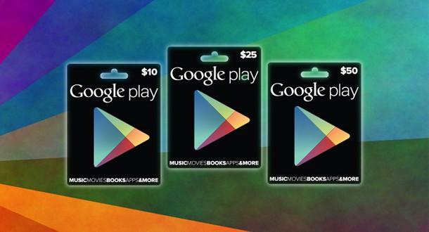 Générateur de Cartes Cadeau Google Play