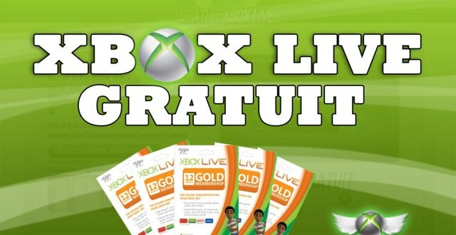 Generateur de Code Xbox Live